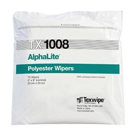 AlphaLite® TX1008 Dry Cleanroom Wipers, Non-Sterile