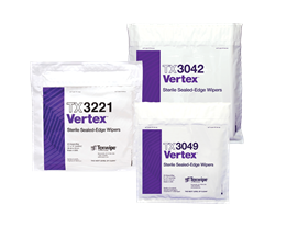 Picture of Vertex® Dry and Sterile Cleanroom Wipers