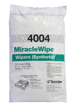 MiracleWipe® TX4004 Dry, Non-Sterile, 100% nylon wipers