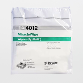 MiracleWipe® TX4012 Dry, Non-Sterile, 100% nylon wipers