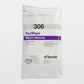 TexWipe® TX306 Dry cotton, Non-Sterile wipers
